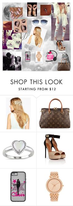 """""""call me 45"""" by nikoleta-nicky-malik ❤ liked on Polyvore featuring ASOS, Louis Vuitton, Kkarmalove, Givenchy, Forum, Michael Kors, Victoria's Secret and Anastasia Beverly Hills"""