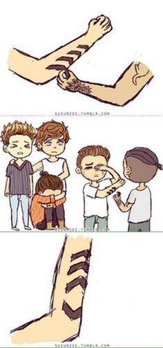 13 One Direction Cartoons About Zayn Malik Leaving That Will Make You Cry 12 - M Magazine Zayn Malik One Direction, One Direction Fan Art, One Direction Drawings, One Direction Cartoons, One Direction Photos, One Direction Wallpaper, One Direction Imagines, One Direction Memes, Strong One Direction
