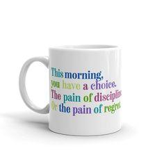 Tough Love, Regrets, Morning Coffee, Drinkware, Badass, Drinking, Inspirational, Tea, Mugs