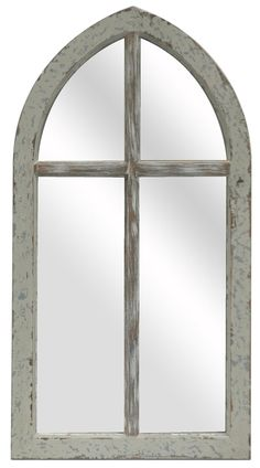 Crestview Antique Cathedral Mirror - CVMRA332