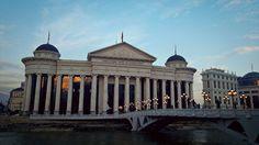 Археолошки Музеј на Македонија - Archaeological Museum of Macedonia (photo taken by me)