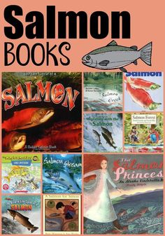 The salmon life cycle is very strange. Learn about some great salmon resources that I have compiled to help with your salmon studies. Science Resources, Science Lessons, Teaching Science, Literacy Activities, Learning Resources, Science Fun, Science Ideas, Science Experiments, Teaching Ideas