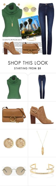 """Fall in Los Angeles"" by krusie ❤ liked on Polyvore featuring Ermanno Scervino, Chloé, Sam Edelman, Tura and Jules Smith"