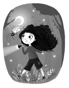 Adventurous Girl. Lucy Fleming Illustrations