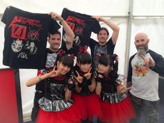 BABYMETAL with ANTHRAX