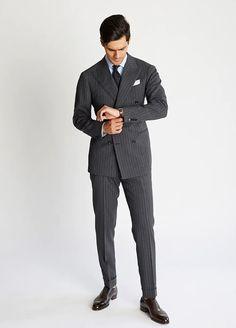 Ring Jacket Mod Fashion, Mens Fashion Suits, Daily Fashion, Street Fashion, Mod Suits, Grey Suits, Business Professional Women, Safari Jacket, Business Formal