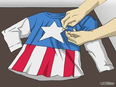 3 Ways to Make a Captain America Costume - wikiHow