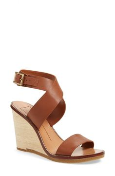 A classic pair of brown wedge sandals is a must-have for spring!