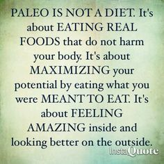 And please don't let anyone tell you different.  Do your homework, ask questions of your doctor, and set people straight when they try to talk you out of it. Easy Paleo Recipes - http://paleoaholic.com