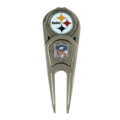 Pittsburgh Steelers Repair Tool and Ball Marker by McArthur Sports. $14.99. Repairs ball marks, mark your ball and cleans turf from golf cleats. Ball marker easily attaches to the magnetic front of the repair tool.