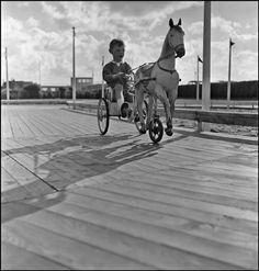 Robert Capa © International Center of Photography FRANCE. Deauville. 1952.