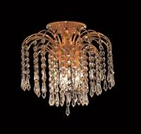 Elegant Lighting Cut Clear Crystal Falls Single-Tier Flush Mount Crystal Chandelier, Finished in Chrome with Clear Crystals Frozen Girls Room, Frozen Room, Semi Flush Lighting, Semi Flush Ceiling Lights, Gold Chrome, Bath Remodel, Chrome Plating, Clear Crystal, Chandelier
