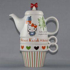 Hello Kitty x Shinzi Katoh Tea Set Sanrio from Japan | eBay