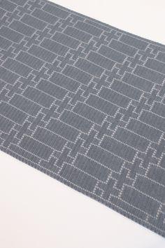 Steve Rousseau Designs • Ralphi Rectangular Shawl • Crochet Pattern • Ito Yarn Shio Silver