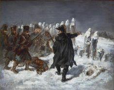 Marechal Ney à la redoute de Kovno (by Auguste Raffet)