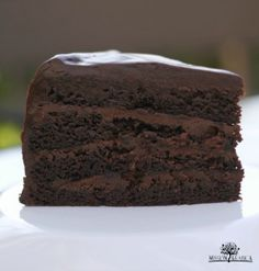 Mandarin Chocolate Cake - Mission Arabica