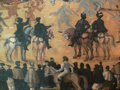 Jost Amman: Gesellen-Stechen der bürgerlichen Patrizier-Söhne Nürnbergs, vom 3. März 1561. Nürnberg, 1561.    Bayerisches Nationalmuseum München, Inv. 49/43