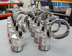 These micro flow meters can measure flows as low as 1cc per min with better than ±1% accuracy.