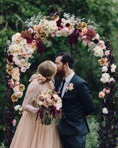 OTOÑO ❤️ #bodasdeotoño #floresdeotoño #flores #weddingplanner #arco