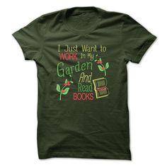 GARDENING AND BOOKS T Shirt, Hoodie, Sweatshirt