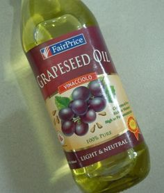 Beauty benefits in using grapeseed oil.  I use this as a body oil daily after showering
