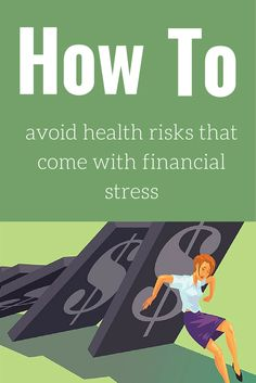 Chronic stress over finances is linked to greater risk for conditions such as diabetes and heart disease. Overcome your financial stress to improve your overall health.