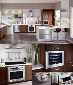 Nice Kitchen Design for small spaces. Would this be your dream kitchen? Simple Kitchen Design, Nice Kitchen, Kitchen Ideas, Interior Styling, Interior Design, Layout, Home Decor Paintings, Cool Kitchens, Modern Kitchens
