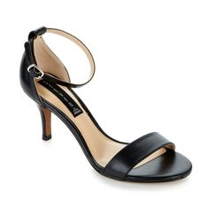 Every woman should have a pair of ankle-strap heels in their closets; it's a classic style that works for every occasion! Use them to dress up a casual look, or complement a cocktail dress! Which of the four color options would you wear most - black, gold, nude or red?