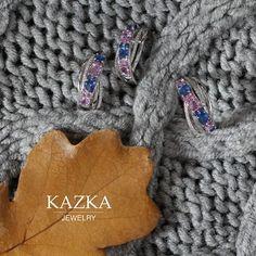 Когда завершится рабочая неделя, вы сможете уютно устроиться на диване, почитать любимую книгу и заглянуть в наш интернет магазин. Вы сразу заметите изменения: столько ярких красок, блеска бриллиантов и настроение на высоте. Даже глядя на этот комплект, сразу представляется шумная вечеринка, множество друзей, новые, интересные знакомства.  #kazka #kazkajewelry #jewelry #vscojewelry #kievgram #ювелирныеукрашения #ювелирка #купитьукрашения #украшениякиев #madeinukraine #vscoua #kyivblog