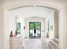W. Creekside Residence farmhouse-entry