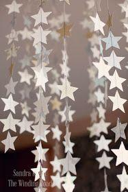 Star mobile/ front door decoration