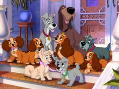Image - Lady-And-The-Tramp-Wallpaper-classic-disney-7326007-1024 ...