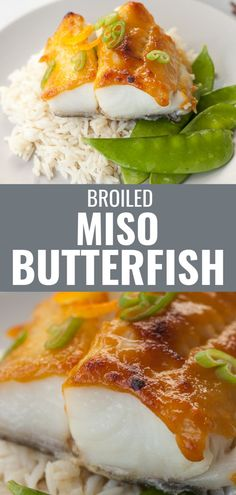 This easy baked miso butterfish yesterday is the best way to enjoy black cod hands down. Simply mix a miso marinade with orange juice, soy sauce and mirin, spread it on top of the fish and broil it to perfection. A great recipe to entertain with that can be paired with bok choy, snap peas, and rice.