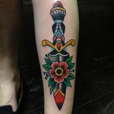 #dagger #flower #traditional