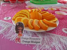 Moore babies: Strawberry Shortcake Birthday ::. The Food (and food tags)
