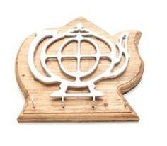 Porta Llaves Cafetera con Madera Rustica #Porta #llaves #madera #rustica #pewter