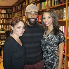 """Jasmine Guy with Troy & Constance Simmons at Books & Books in Coral Gables/Miami CORAL GABLES- She was known as the southern belle on """". Constance Jones, Coral Gables Miami, Jasmine Guy, Southern Belle, Celebs, Couple Photos, Amazing, Celebrities, Couple Shots"""