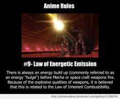 Anime Rule #9 by ArkaMustang