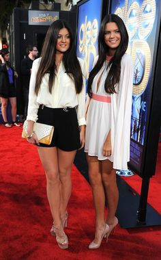 Kendall and Kylie Jenner all grown up. Love it.