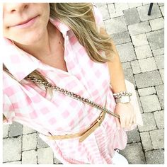 Today's #ootd and I must say that pink gingham seemed perfectly fitting for #Easter!! Shop this darling dress and my shoes which are on sale @nordstrom!  @liketoknow.it www.liketk.it/2haDN #liketkit #ltksalealert