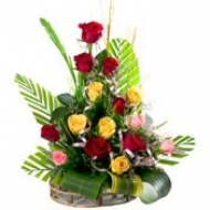 Mix Rose basket to Pune delivery. Here you can find all types of gifts for any occasions in Pune.  Visit our site : www.puneflowersdelivery.com/flowers/wedding-flowers-to-pune.html