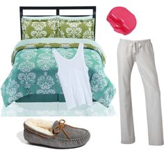 A fashion look from July 2011 featuring modal tank top, cotton pjs and twins furniture. Browse and shop related looks. Night Night, Sweet Dreams, Shoe Bag, My Style, Polyvore, Collection, Shopping, Shoes, Black