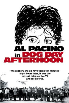 Dog Day Afternoon (1975)  This movie is based on a true story about a bank robbery that happened in a Chase Manhattan bank in Gravesend, Brooklyn in 1972. John Wojtowicz, the man who led the bank robbery, inspired the character Sonny Wortzik played by Al Pacino. Sonny brings along his accomplice, Sal, played by John …