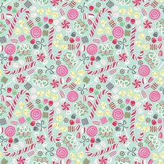 Cute Christmas fabric from http://fabricrehab.co.uk/fabrics/sugar-rush-christmas-candy-blue/