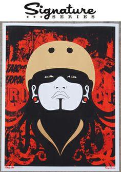 Demanda Riot - B.ay A.rea D.erby Girls - Limited Edition Lithograph by Jay Vollmar Roller Derby Girls, Derby Time, Signature, Aerial Silks, Roller Skating, Art Girl, Comic Art, Art Photography, Cross Stitch
