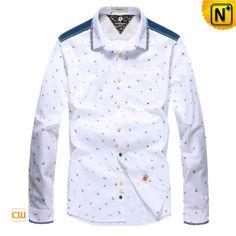 Mens Premium Button Down Cotton Shirts CW114705 $128.89 - www.cwmalls.com