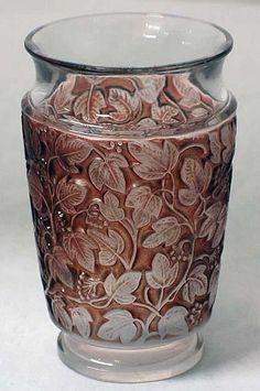Rene Lalique Deauville Vase