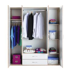 OIKOS365 - Ντουλάπες που καλύπτουν τις ανάγκες σας, σε μεγάλη ποικιλία για να διαλέξετε όποια ταιριάζει στην αισθητική σας. Περισσότερα στο σχετικό link. Ceiling Design, Closet, House, Furniture, Home Decor, Room Ideas, House Decorations, Roof Design, Armoire