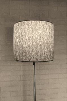 another crochet lamp