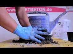 KNETBETON KNETEN (Selber machen)! - YouTube